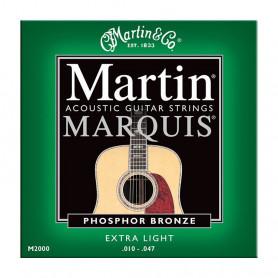 Струни MARTIN M2000 (10-47 Marquis Phosphor bronze) фото