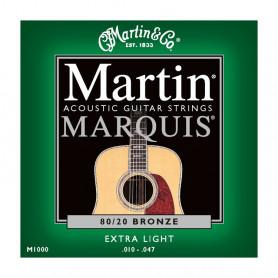 Струни MARTIN M1000 (10-47 Martin Marquis Bronze) фото