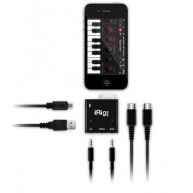 IK MULTIMEDIA iRIG MIDI Интерфейс для iPOD/iPhone/iPAD фото