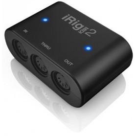 IK MULTIMEDIA iRIG MIDI 2 Интерфейс для iPOD/iPhone/iPAD фото