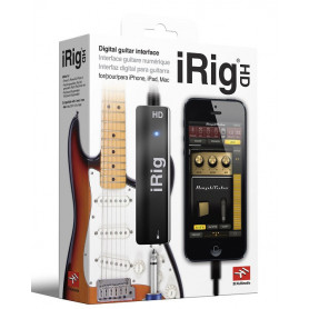 IK MULTIMEDIA iRIG HD Интерфейс для iPOD/iPhone/iPAD фото
