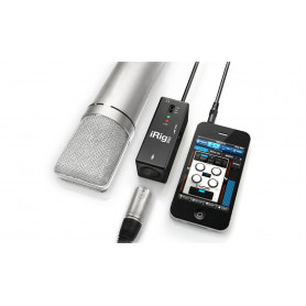 IK MULTIMEDIA iRIG PRE Интерфейс для iPOD/iPhone/iPAD фото