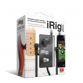 IK MULTIMEDIA iRIG STOMP Интерфейс для iPOD/iPhone/iPAD фото