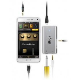 IK MULTIMEDIA iRIG UA Гитарный процессор аудиоинтерфейс для Android устройств фото