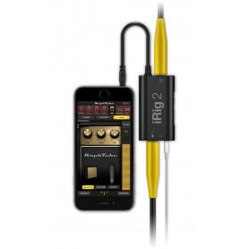 IK MULTIMEDIA iRIG 2 Интерфейс для iPOD/iPhone/iPAD фото