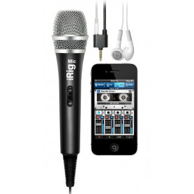IK MULTIMEDIA iRIG MIC Микрофон для iPOD/iPhone/iPAD фото