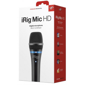 IK MULTIMEDIA iRIG MIC HD Микрофон для iPOD/iPhone/iPAD фото