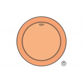 "REMO POWERSTROKE3 22"" COLORTONE ORANGE Пластик для барабана"