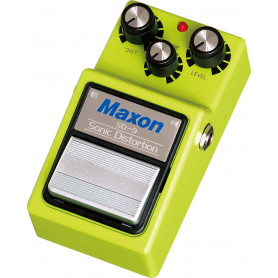 MAXON SD9 SONIC DISTORTION Гитарный эффект педаль дисторшн фото