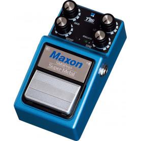 MAXON SM9PRO+ SUPER METAL Гитарный эффект дисторшн педаль фото