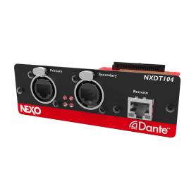 NEXO NXDT104 MK2 карта расширения Dante для усилителей NXAMP