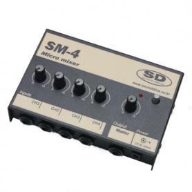 SOUND DRIVE SM4 Микшерный пульт фото