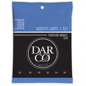 MARTIN D220 Darco Acoustic 92/8 Phosphor Bronze Light (12-54)