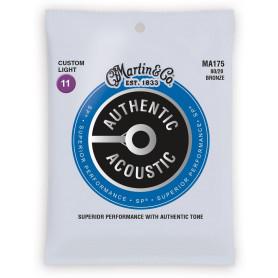 MARTIN MA175 Authentic Acoustic SP 80/20 Bronze Custom Light