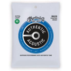 MARTIN MA530 Authentic Acoustic SP 92/8 Phosphor Bronze Extra