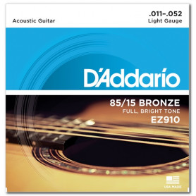 D`ADDARIO EZ910 BRONZE LIGHT 11-52 Струны