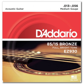 D`ADDARIO EZ930 BRONZE MEDIUM 13-56 Струны