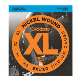 D`ADDARIO EXL160 XL MEDIUM 50-105 Струны