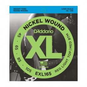 D`ADDARIO EXL165 XL REG LIGHT TOP / MED BOTTOM 45-105 Струны