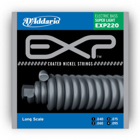 D`ADDARIO EXP220 EXP SUPER LIGHT 40-95 Струны фото