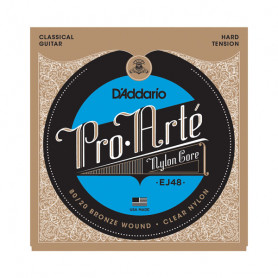 D`ADDARIO EJ48 PRO ARTE 80/20 BRONZE WOUND HARD TENSION Струны