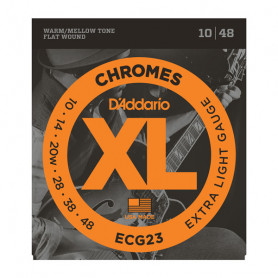 D`ADDARIO ECG23 XL CHROMES EXTRA LIGHT (10-48) Струны