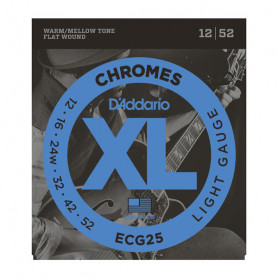 D`ADDARIO ECG25 XL XL CHROMES LIGHT (12-52) Струны