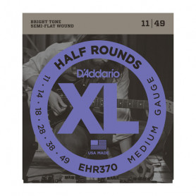 D`ADDARIO EHR370 XL HALF ROUNDS MEDIUM 11-49 Струны