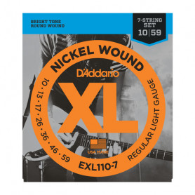 D`ADDARIO EXL110-7 XL REGULAR LIGHT 7-STRING (10-59) Струны