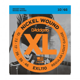 D`ADDARIO EXL110 XL REGULAR LIGHT (10-46) Струны