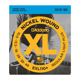 D`ADDARIO EXL110+ XL REGULAR PLUS (10.5-48) Струны