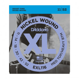 D`ADDARIO EXL116 XL MEDIUM TOP / HEAVY BOTTOM (11-52) Струны
