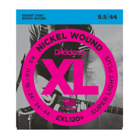 D`ADDARIO EXL120+ XL SUPER LIGHT PLUS (09.5-44) Струны