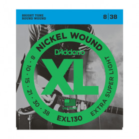 D`ADDARIO EXL130 XL EXTRA SUPER LIGHT (08-38) Струны