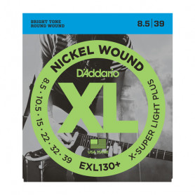 D`ADDARIO EXL130+ XL EXTRA SUPER LIGHT PLUS (08.5-39) Струны