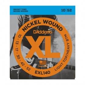 D`ADDARIO EXL140 XL LIGHT TOP / HEAVY BOTTOM (10-52) Струны