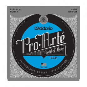 D`ADDARIO EJ31 PRO ARTE RECTIFIED HARD TENSION Струны
