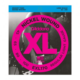D`ADDARIO EXL170 XL REGULAR LIGHT 45-100 Струны