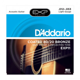 D`ADDARIO EXP11 EXP 80/20 BRONZE LIGHT 12-53 Струны