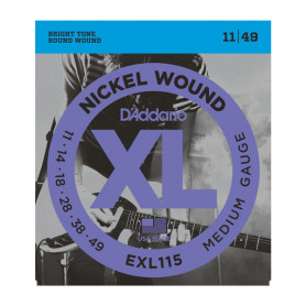 D`ADDARIO EXL115 XL BLUES/JAZZ ROCK (11-49) Струны