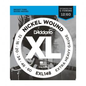 D`ADDARIO EXL148 XL EXTRA HEAVY (12-60) Струны
