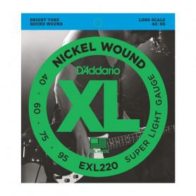 D`ADDARIO EXL220 XL SUPER LIGHT 40-95 Струны