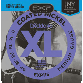 D`ADDARIO EXP115 EXP COATED BLUES / JAZZ ROCK (11-49) Струны