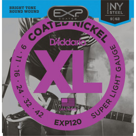D`ADDARIO EXP120 EXP COATED SUPER LIGHT (09-42) Струны