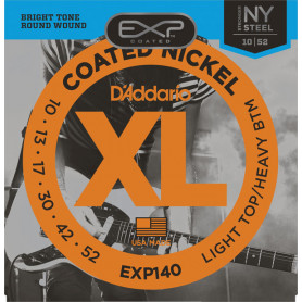 D`ADDARIO EXP140 EXP LIGHT TOP / HEAVY BOTTOM (10-52) Струны