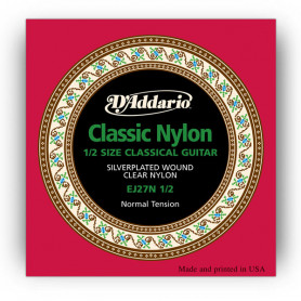 D`ADDARIO EJ27N 1/2 STUDENT CLASSICS NORMAL TENSION 1/2 Струны
