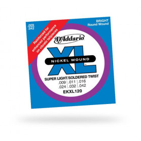 D`ADDARIO EKXL120 XL SUPER LIGHT REINFORCED (9-42) Струны