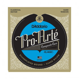 D`ADDARIO EJ46C PRO-ARTE COMPOSITES HARD TENSION Струны