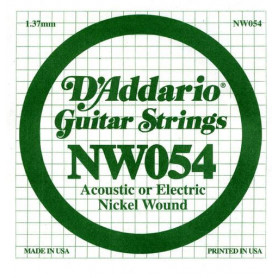 D`ADDARIO NW054 XL Nickel Wound 054 Струны