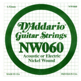 D`ADDARIO NW060 XL Nickel Wound 060 Струны